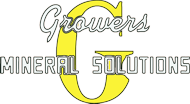 Logo for Growers Mineral Solutions