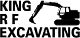 Logo for R. F. King Excavating