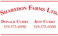 Logo for Sharedon Farms Ltd.