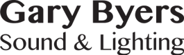 Logo for Gary Byers Sound and Lighting