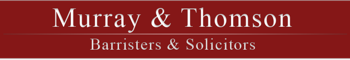 Logo for Murray Thomson Barristers and Solicitors